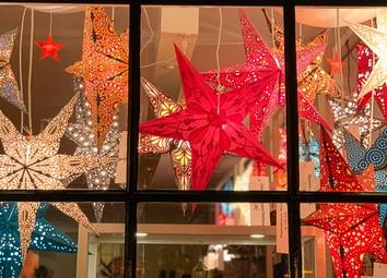 sterren in wereldwinkel Leiden
