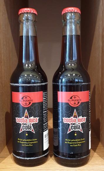 2 flesjes fairtrade cola